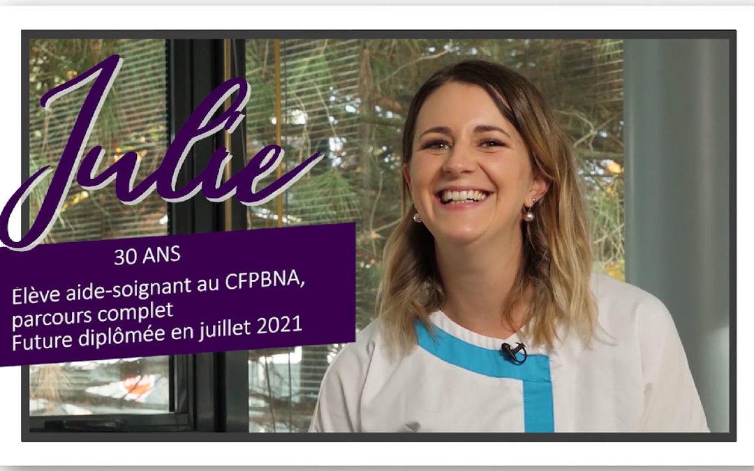 Témoignages Vidéos de nos élèves Aides-soignants